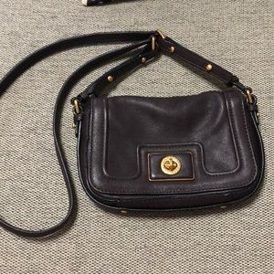 Marc by Marc Jacobs burgundy leather crossbody bag